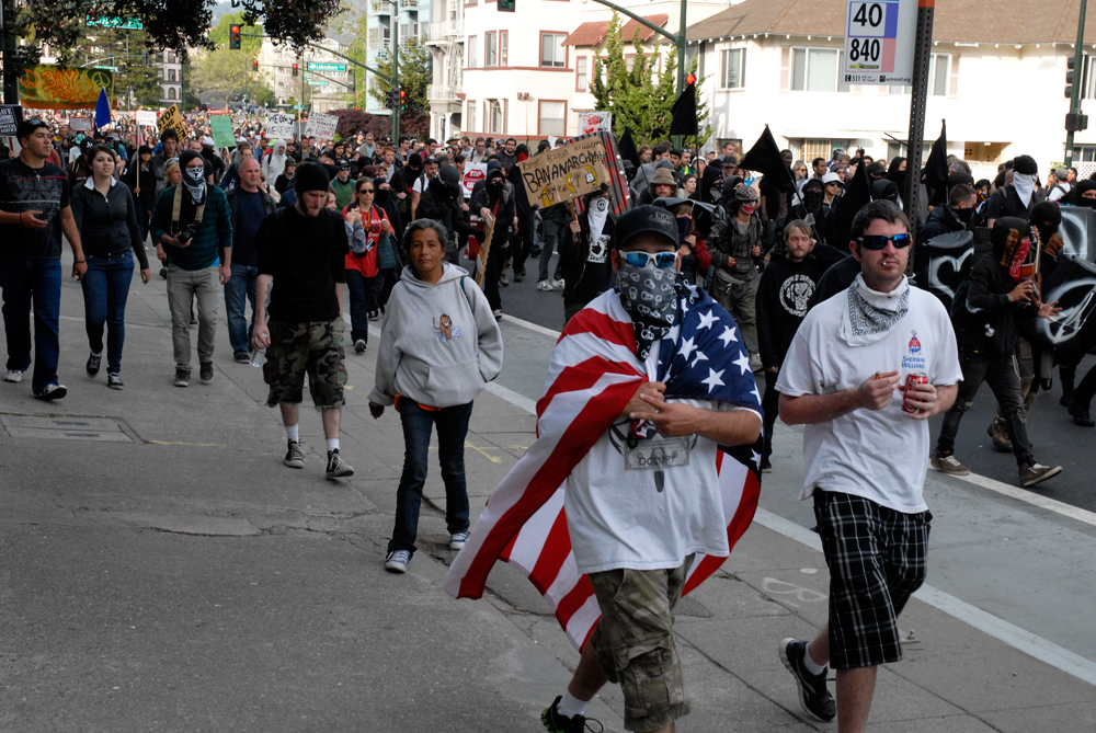 May Day March in Oakland