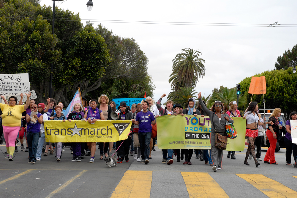 Trans March in San Francisco