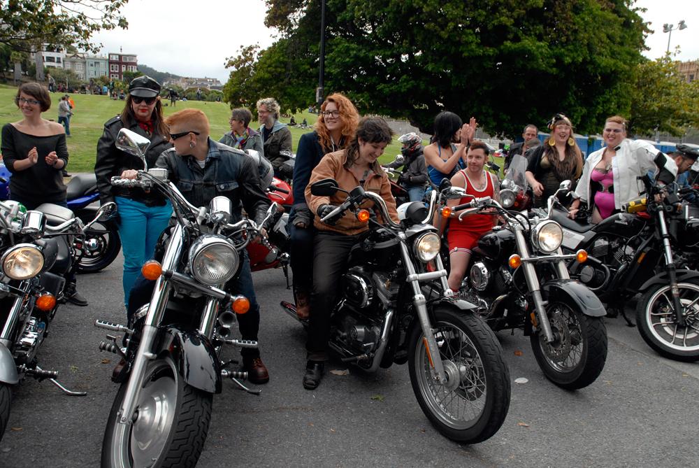 Trans March bikers