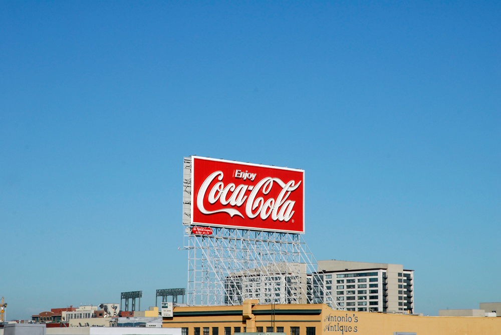 Enjoy Coca-Cola in San Francisco