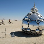 Mirror orb. Photo: Wendy Goodfriend