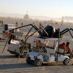 Spider art car. Photo: Wendy Goodfriend