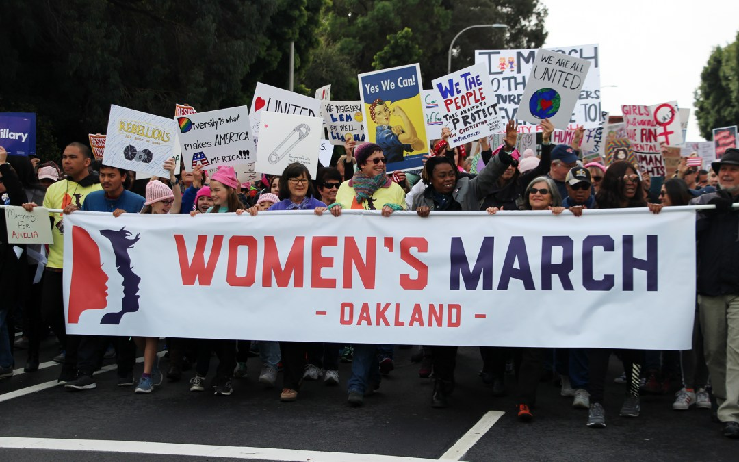 The Women's March in Oakland — Signs of the Times