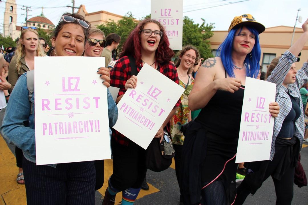 Lez Resist Patriarchy!