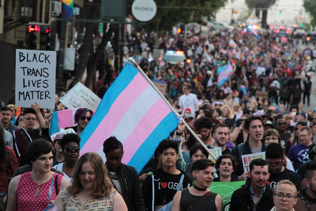 Trans March SF - Black Trans Lives Matter