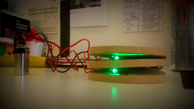 Initial LED testing