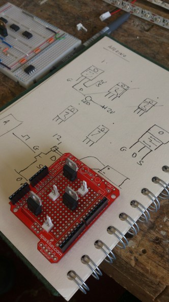 arduino and wiring process