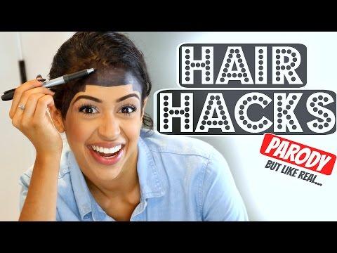 WORLD'S BEST HAIR HACKS! BY Liza Koshy