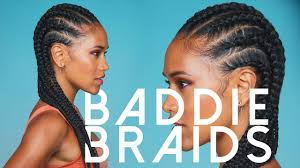 Don't know how to cornrow? Watch and LEARN from this easy tutorial!