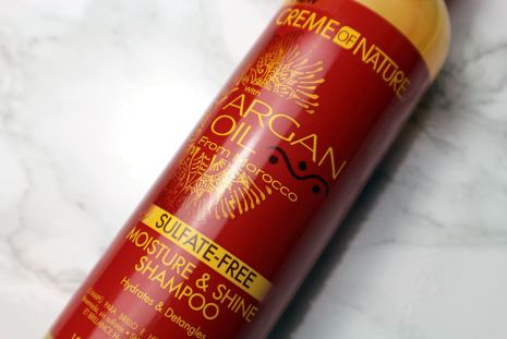 SybilCreates-Creme-of-Nature-Argan-Oil-Moisture-and-Shine-Shampoo-Review