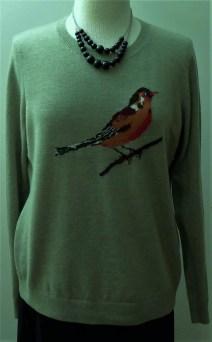 Wool and nylon sweater, Talbot, 5.99
