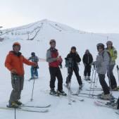Ski in the Cordillera