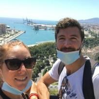View from Gibralfaro, Malaga