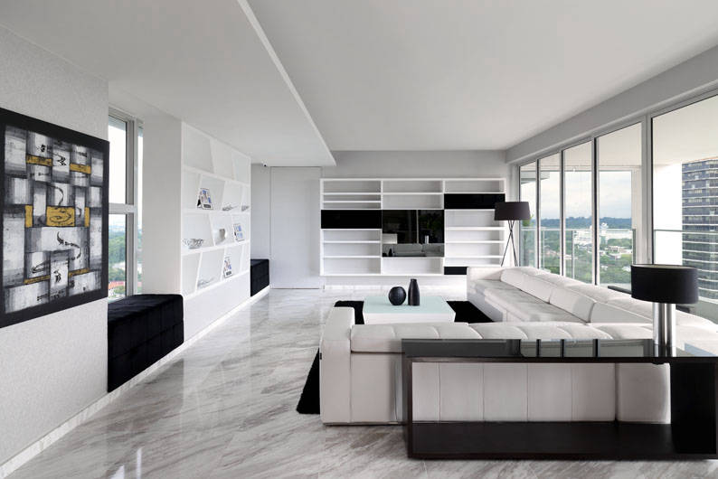 Monochrome Magic: 5 Homes That Rock The Black-and-white