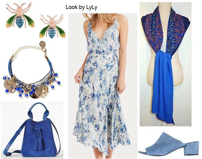 estilismos para verano en color azul