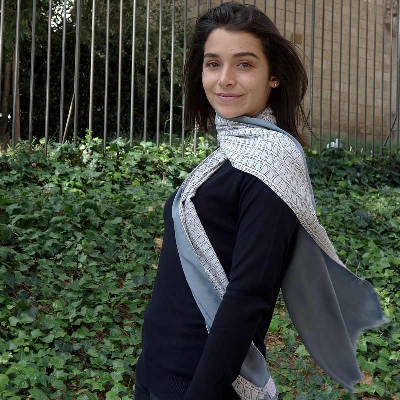 fular de mujer de moda sostenible