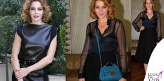 Claudia Gerini total Trussardi