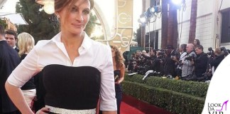 Julia Roberts Golden Globes abito Dolce e Gabbana