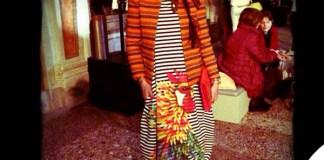 Syria abito bustier Stella Jean