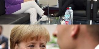 Angela Merkel Matteo Renzi Bruxelles