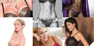 Intimo Rita Ora Tezenis Belen Rodriguez Jadea Naomi Campbell Yamamay Miley Cyrus Sloggi Linda Morselli Lovable