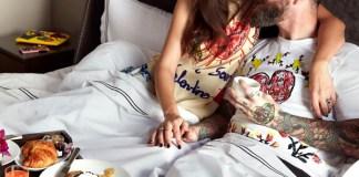Bianca Balti e Matthew McRae Dolce&Gabbana San Valentino 2