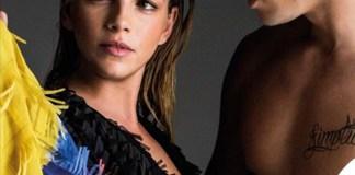 Lampoon Baptiste Giabiconi e Emma Marrone vestito Marco De Vincenzo