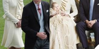 Kate Middleton Garden Party Battesimo George abito Alexander McQueen