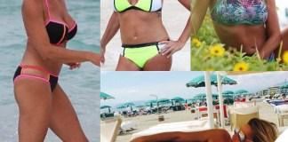 Simona Ventura bikini Calzedonia