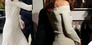Kate Middleton abito Barbara Casasola sandali Schutz