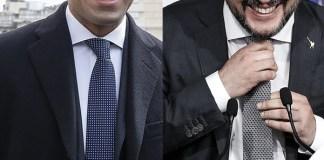 Luigi Di Maio Matteo Salvini cravatta