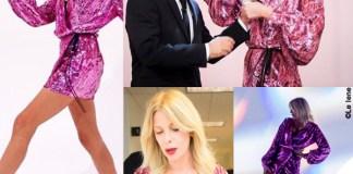 Le Iene prima puntata Alessia Marcuzzi abito Attico 7