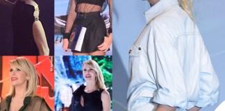 Alessia Marcuzzi Isola 2016 e 2019 Versace
