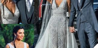 Matrimonio Sergio Ramos e Pilar Rubio abito Zuhair Murad 6