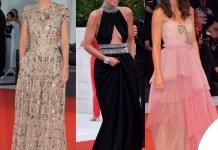 Venezia 76 Alessandra Mastronardi abiti Elie Saab Prada Gucci