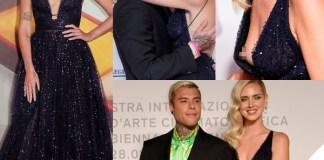 Venezia 76 Chiara Ferragni Unposted Chiara Ferragni abito Dior Fedez completo Versace 4