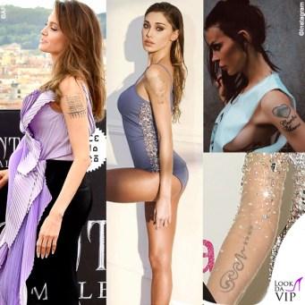 star che hanno fatto modificare o rimuovere i tattoo dopo la fine di un amore