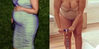 Ashley Graham incinta