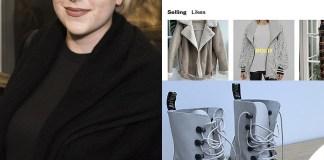 Isabella Cruise vende i vestiti usati su internet