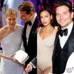 Bradley Cooper con Renee Zellweger e Irina Shayk