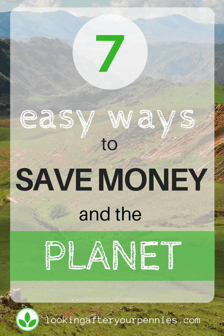 save money and the planet