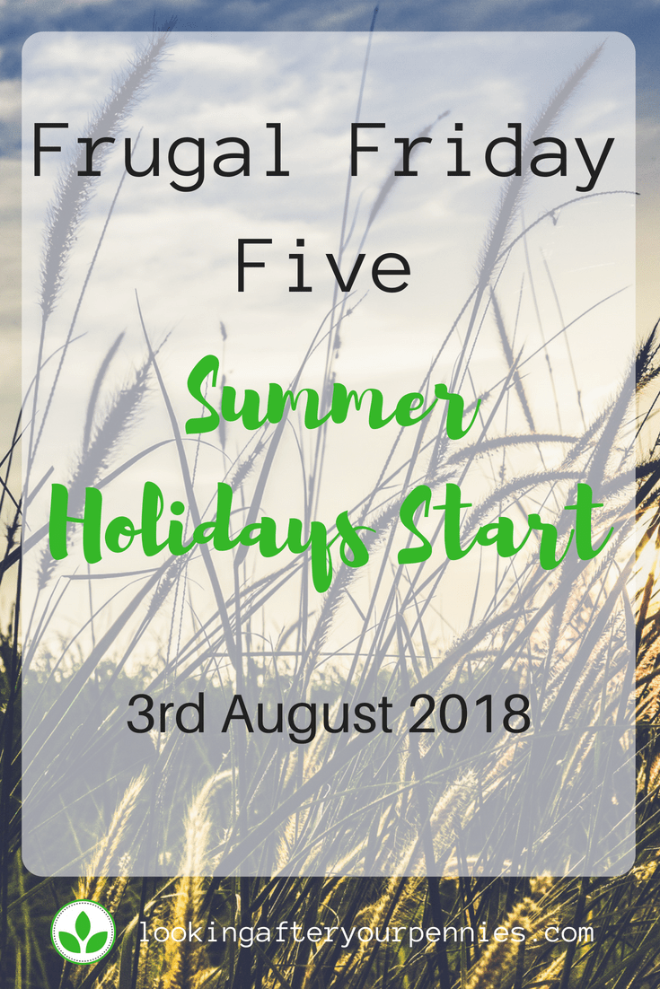 Here is my first look at my Frugal Friday Five. I discuss five things I have done this week to save money. #frugalfriday #moneysaving #debtfree #lookingafteryourpennies