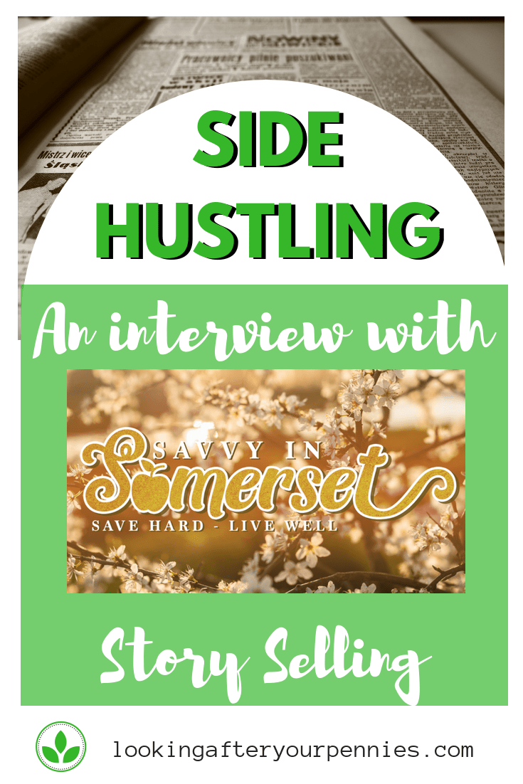 Side Hustling - Story Selling. Learn how Fiona makes money selling stories to magazines and newspapers. #makingmoney #sidehustle