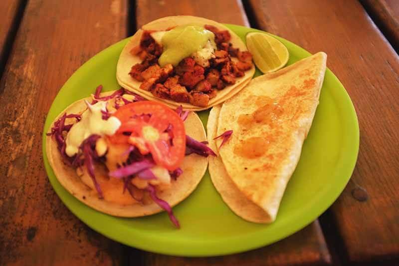Tacos em La Eufemia