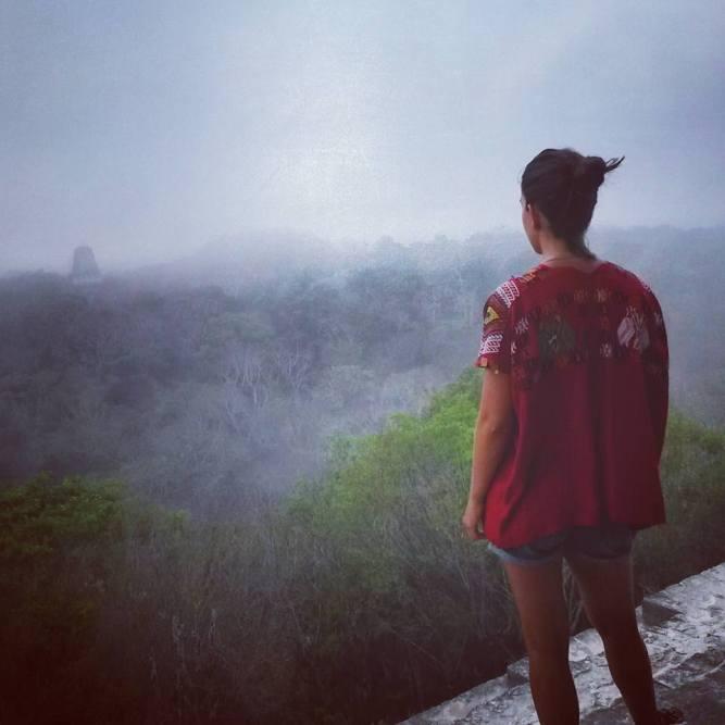 Tikal ao amanhecer