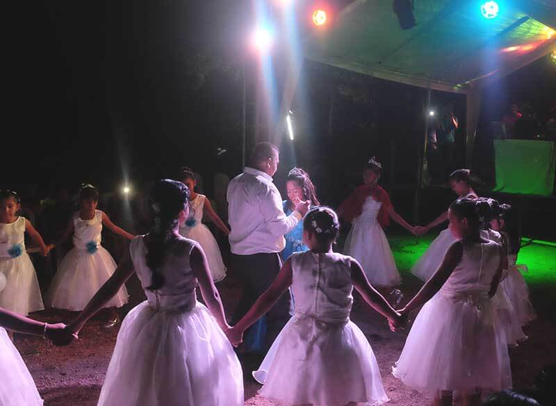 Valsa de abertura do baile