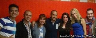 Sasha Moreno, Mafer Millán, Alfredo Horn y Jorge Luis Hernández de la obra Formas de Amor.