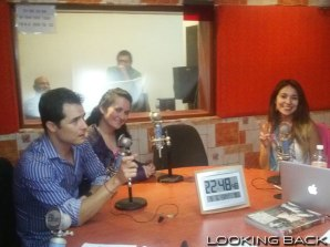 Yeka Rosales, Cheryl Sue y Marcos Duarte.