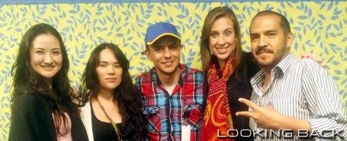 Hiromi Hayakawa, Marta Fernanda y Crisanta Gómez de la obra Mentiras.