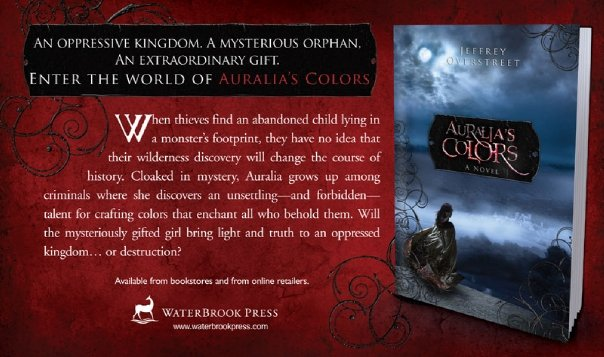 WaterBrook Press ad for Auralia s Colors